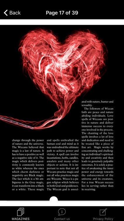 Wicca Magazine screenshot-4