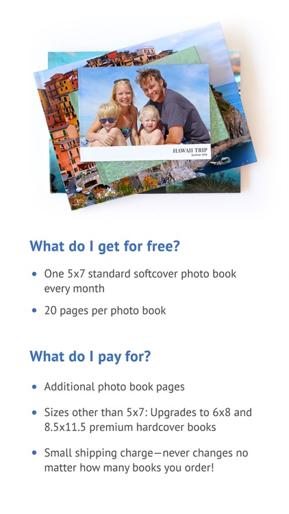 FreePrints Photobooks – Free book every month screenshot-4