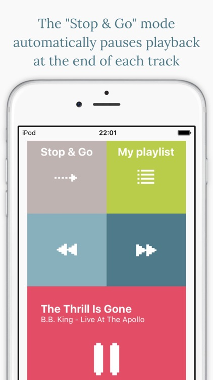 Stop&Go+ Music Player