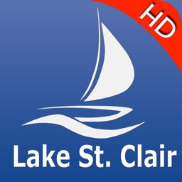 Lake St. Clair GPS Nautical charts pro