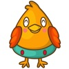 Cubie, the chubby chicken for iMessage Sticker