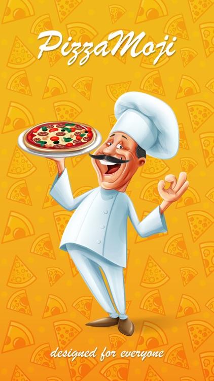 PizzaMoji - pizza stickers & emojis for restaurant