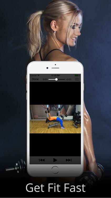 Dumbbell Workout Routine & Exercises Training screenshot-4