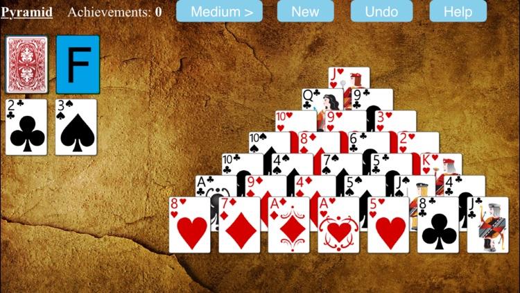 Pyramid Solitaire - Free screenshot-3