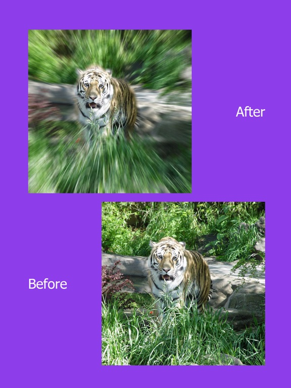 Screenshot #2 for Photo Focus Effects : Blur Image Background