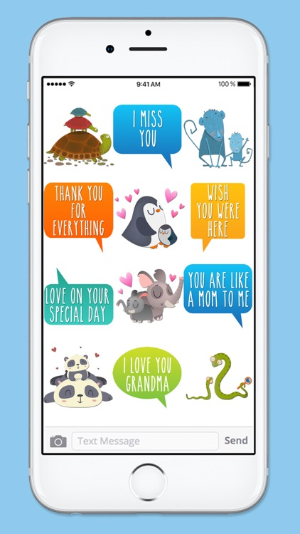 Mothers Day I Love You Sticker Pack screenshot-4