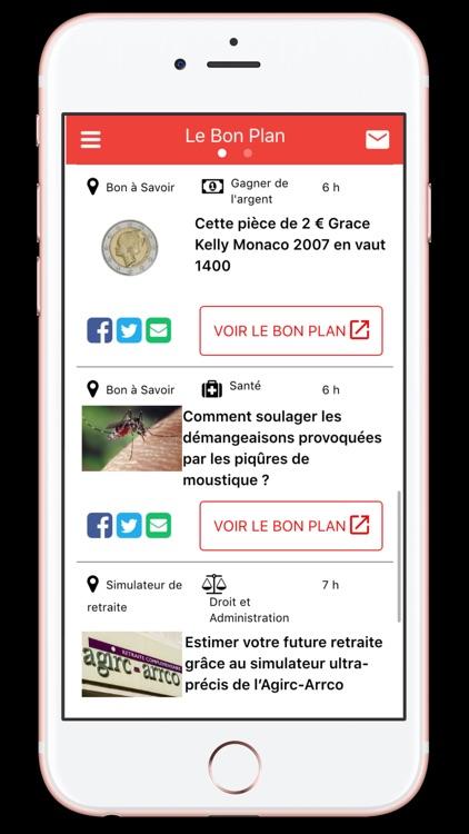 Le Bon Plan App