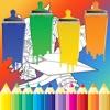 Coloring Book For Kids Drawing Skylanders Edition