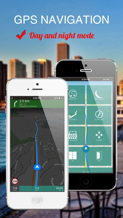 Freetown, Sierra Leone : Offline GPS Navigation screenshot-3