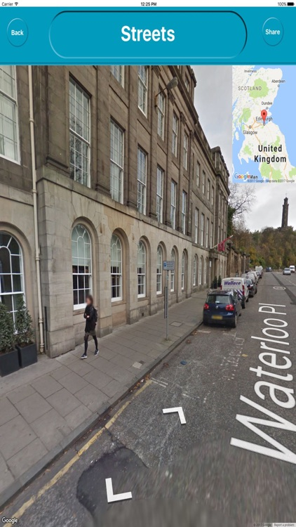 Edinburgh UK Offline City Maps Navigation screenshot-3