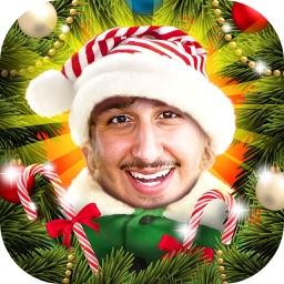 Elf Photo Studio Editor Christmas Picture Montage