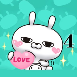 Single eyelid of a rabbit (LOVE)