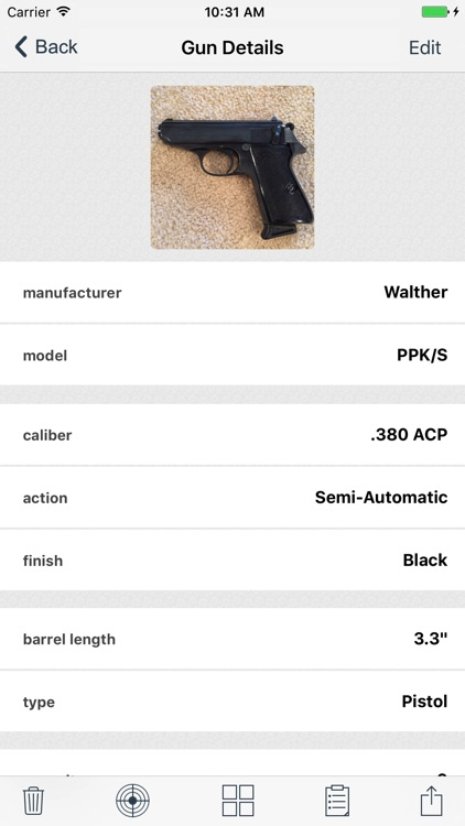 myArmsCache screenshot-3