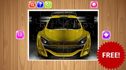 Sport Cars Jigsaw Puzzle Game For Kids and Adults screenshot four