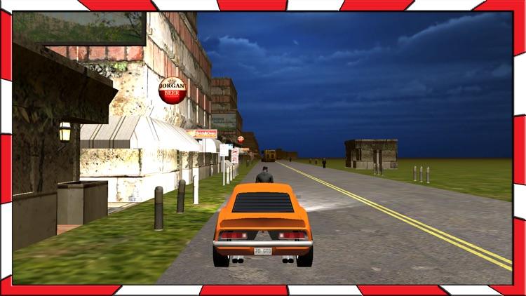 Adventurous Ride of Fastest Car in Zombie City screenshot-3