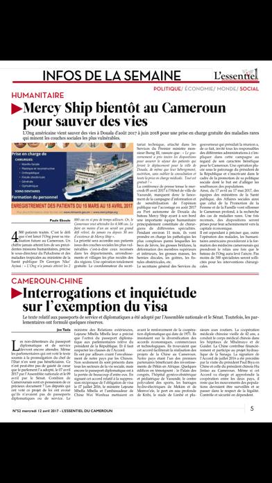 L'esssentiel du Cameroun screenshot 5