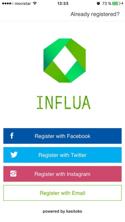 Influa app image