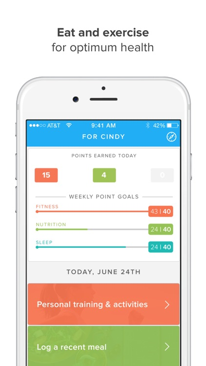 Olumia Life — Healthy weight loss, better living app image