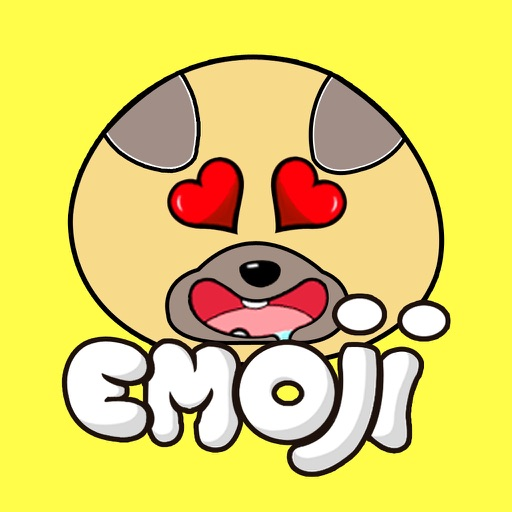 Chubby Puppy - Pug Emoji & Sticker Pack by Quang Luong