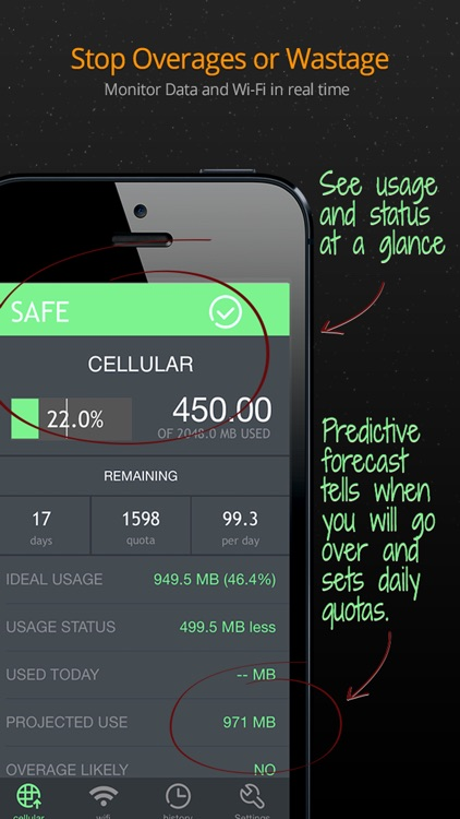 Data Usage Pro
