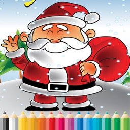 Christmas Day Coloring Book - Paint for Kids