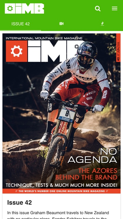 IMB Free Mountain Bike Magazine