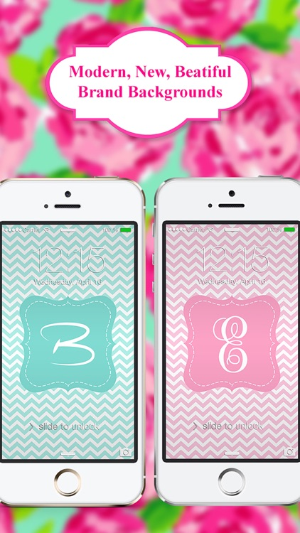 Monogram App - Wallpaper & Backgrounds for iPhone screenshot-1