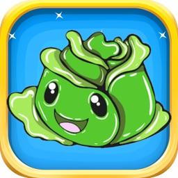 Veggie Vegan Stickers - Vegan Emoji Stickers Pack