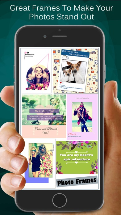 Photo Frames A Collage Maker And Scrapbook App Data Review