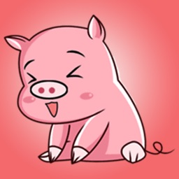 Pinky Pig Stickers