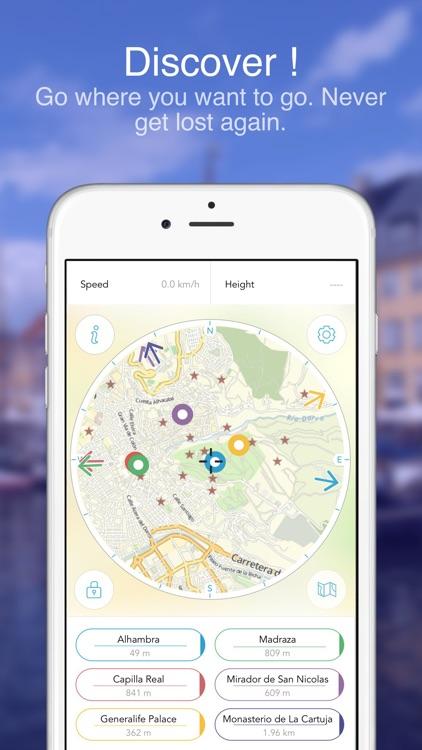 Granada on Foot : Offline Map