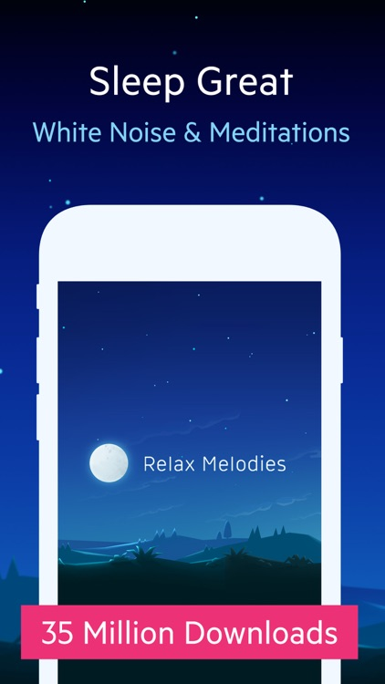Relax Melodies P: sleep sounds, white noise & fan