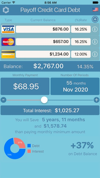 Manage Credit Card Debt screenshot-3