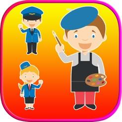 Pekerjaan Buku Mewarnai Halaman Anak Belajar Di App Store