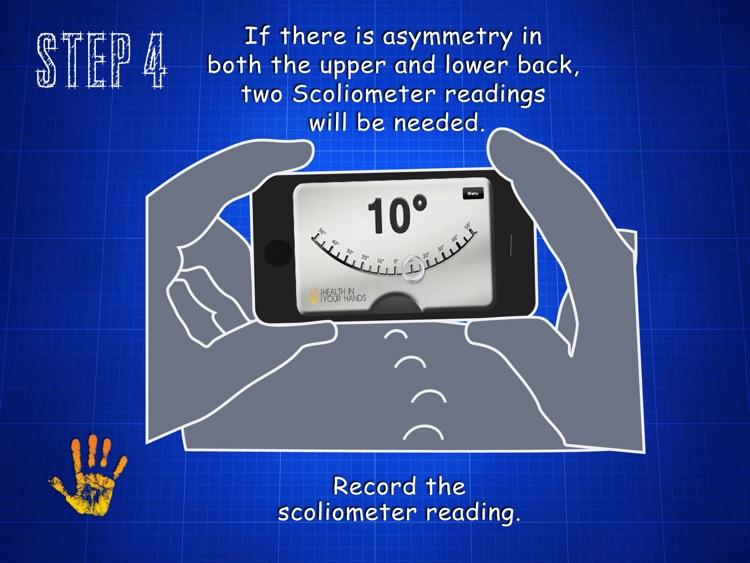 Scoliometer HD screenshot-4