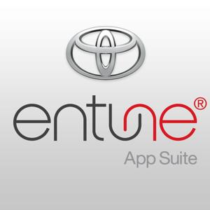 Toyota Entune Lifestyle app