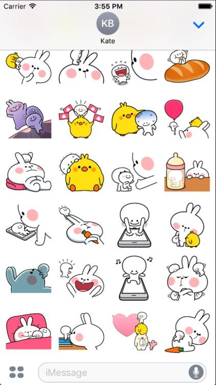Cool Rabbit and Tiny Smiles screenshot-3