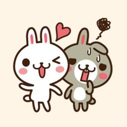 Positive rabbit & Negative rabbit