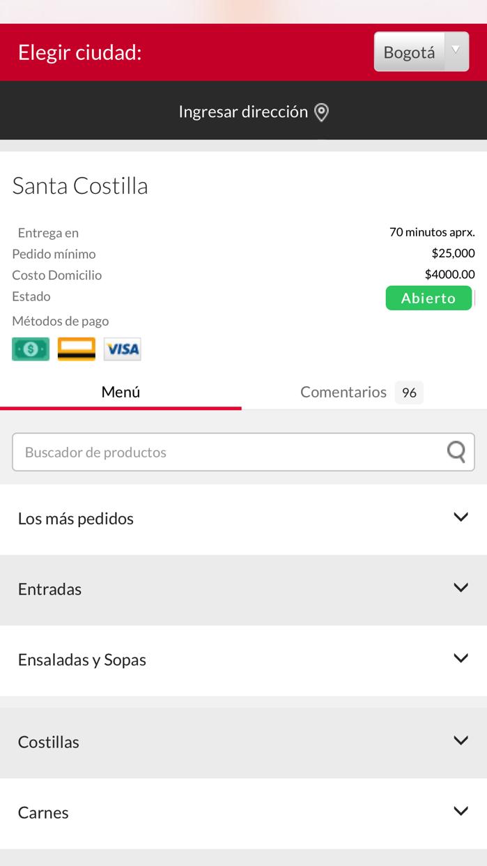 Santa Costilla Screenshot