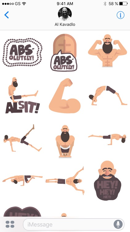 Al Kavadlo Stickers