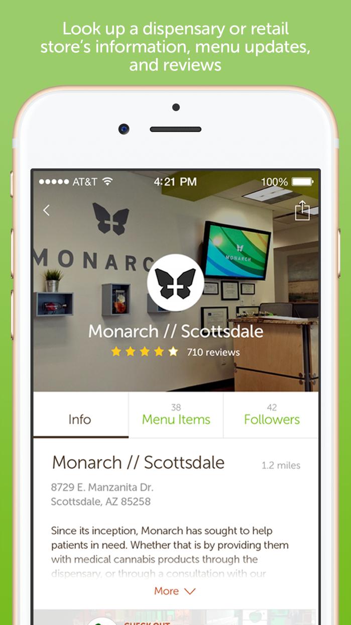 Leafly: Marijuana Reviews Screenshot