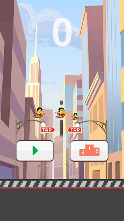 Flappy Hero (jeu très addictif)