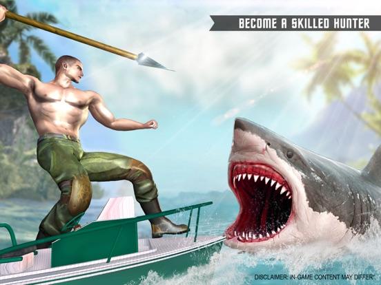 サメの狙撃兵-スピアフィッシング ゲーム素晴らしい白い顎のおすすめ画像1