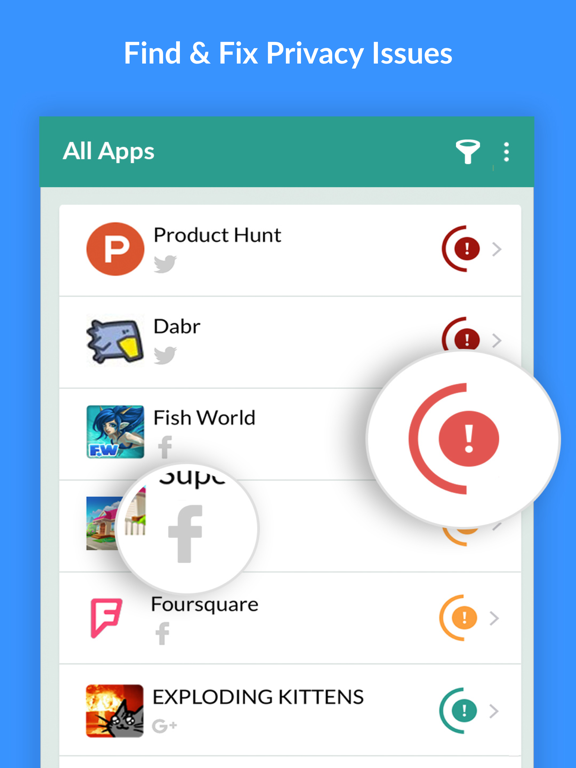 MyPermissions Privacy Cleaner screenshot 8