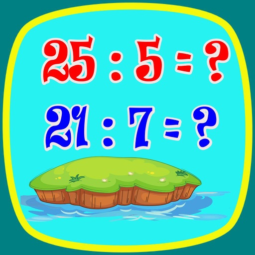 Division Math (kids math) SD icon