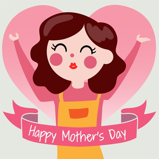 Animated Happy Mother's Day by APPBUBBLy