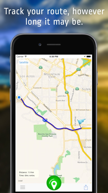 Route Tracker Lite - For GPS Location Sharing