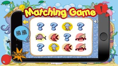 Sea Animals Matching-Education Learning Matching screenshot two