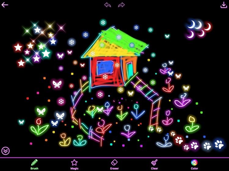 Kids Painting HD - Draw,Paint on Sketch Board screenshot-3