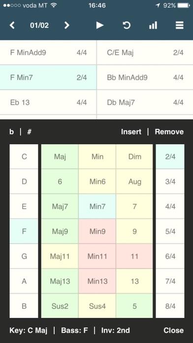 Chordbot screenshot1